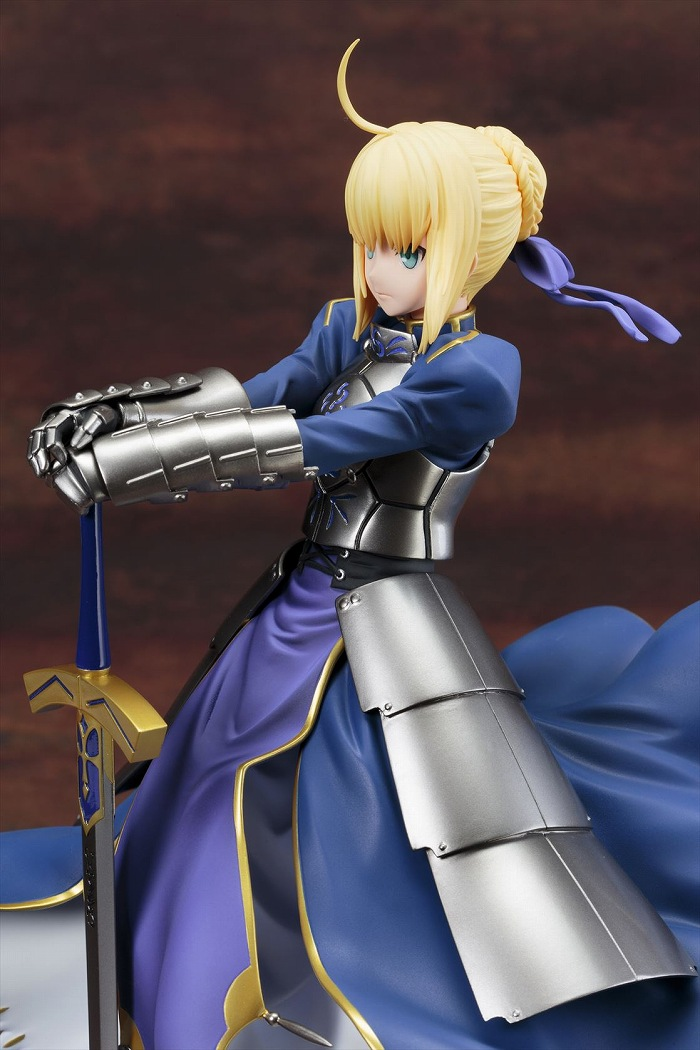Fate/stay night[Unlimited Blade Works]「騎士王 セイバー」のフィギュア画像