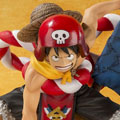 ONE PIECE「フィギュアーツZERO モンキー・D・ルフィ -ONE PIECE FILM GOLD Opening Ver.-」