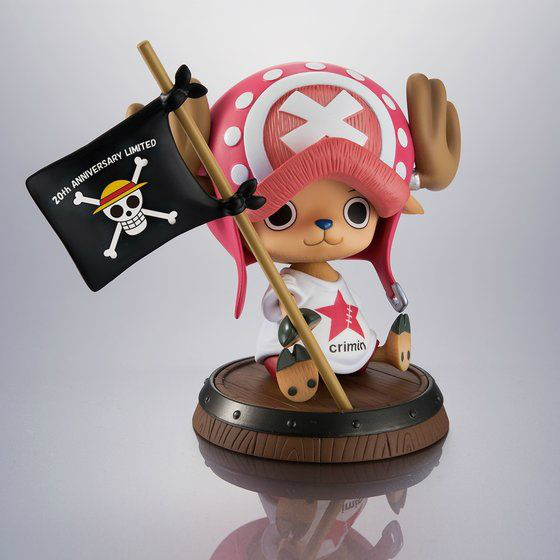 "ONE PIECE「Portrait.Of.Pirates ワンピース""Sailing Again""トニートニー・チョッパー Crimin ver.(20th Anniversary)」のフィギュア画像"